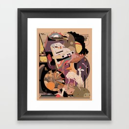 The IDONTKNOW Framed Art Print