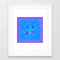 cracked Framed Art Prints featuring Cracked! by Shawn King