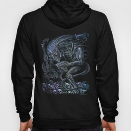 Alien Punk Rocker Outer Space Monster Hoody