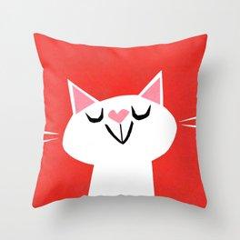 Purrrfect Throw Pillow