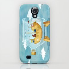 AIRSHIP IN A BOTTLE Galaxy S4 Slim Case