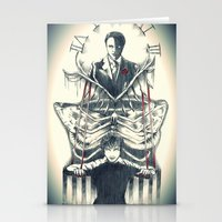 hannibal Stationery Cards featuring Hannibal by Lunzury