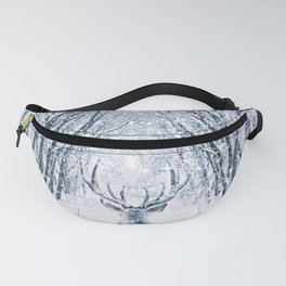 Winter deer Fanny Pack