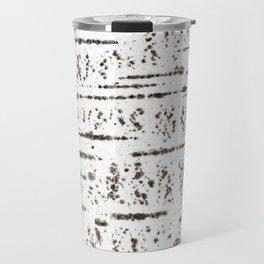 Birch bark pattern Travel Mug