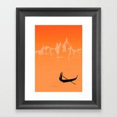 Venice. Framed Art Print
