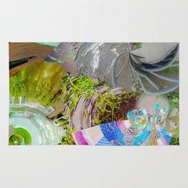 Virtual Surreality Monad 4D View No. 1 by Oli Goldsmith Rug