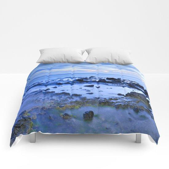 Blue Monsul Comforters