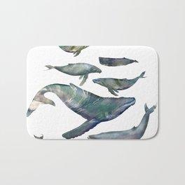 Whales Bath Mat