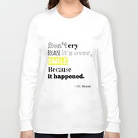 dr seuss Long Sleeve T-shirts featuring Dr Seuss by Laura Maria Designs