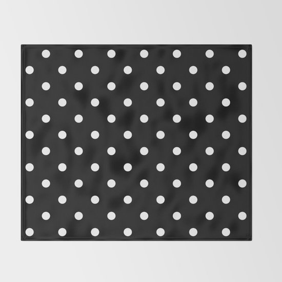 Black & White Polka Dots by vintageappeal623