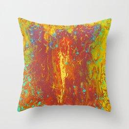 Fluid Abstract 02 Throw Pillow