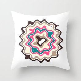 Hot Summers Day (Melted Ice Cream) Throw Pillow