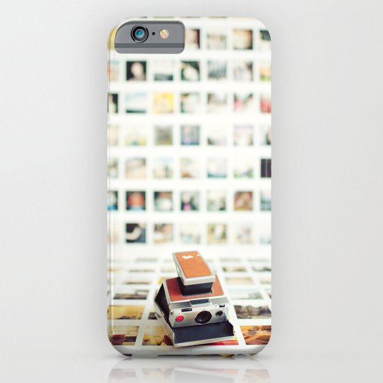 Polaroid Wall iPhone & iPod Case