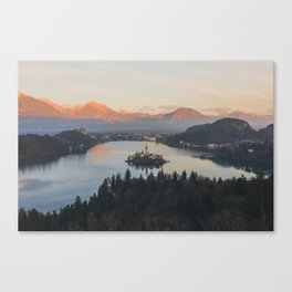 Lake Bled, Slovenia II Canvas Print