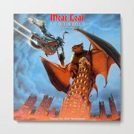MeatLoaf Metal Print