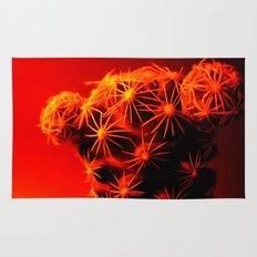red cactus. Rug