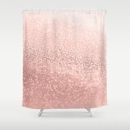 ROSEGOLD Shower Curtain