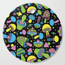 Shroomin Blacklight Cutting Board