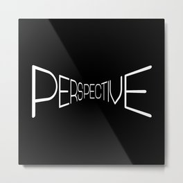 Perspective Deep Metal Print