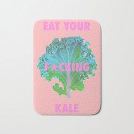 Eat your F*cking Kale Bath Mat