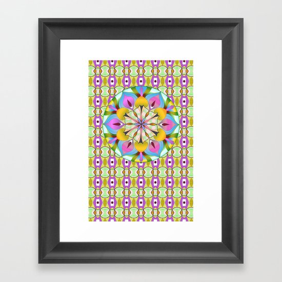 Lucky Lotus Framed Art Print