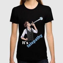 It'sTelepathy - white T-shirt