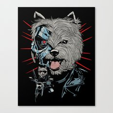 THE TERRIERMINATOR Canvas Print