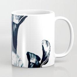 Black flower Coffee Mug