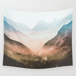 Mountain Adventure 21 - Nature Photography Wall Tapestry