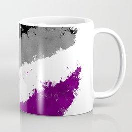 Splatter YOUR Colors - Ace Pride Coffee Mug