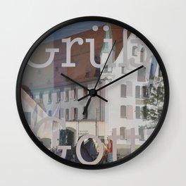 Gruess Gott Wall Clock