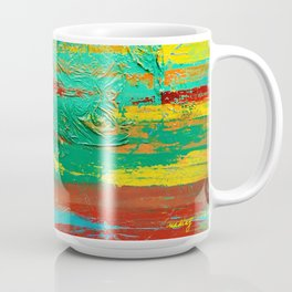 All That We See by Nadia J Art Coffee Mug