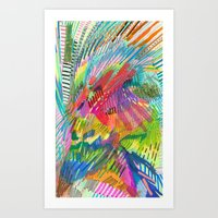 kaleidoscope eyes Art Print