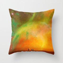 Acid Aftermath Throw Pillow