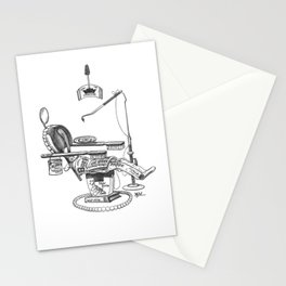 Dentist Chair Stationery Cards