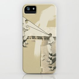 And The Crowd Begins To Wonder iPhone Case
