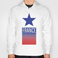 france Hoodies featuring FRANCE by Andrew O'Rourke