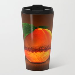 100 % natural juice Metal Travel Mug