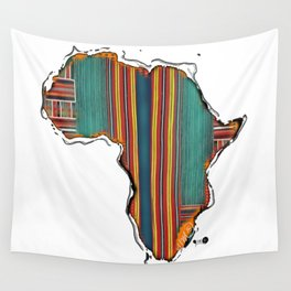 Striped Africa Wall Tapestry