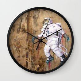My Father became an Astronaut to young Wall Clock