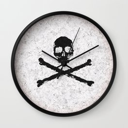 Marble Revolution Wall Clock