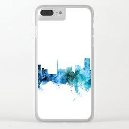 Johannesburg South Africa Skyline Clear iPhone Case