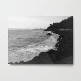 Lose Sight of the Shore Metal Print