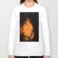firefly Long Sleeve T-shirts featuring Firefly by Skydre4mer