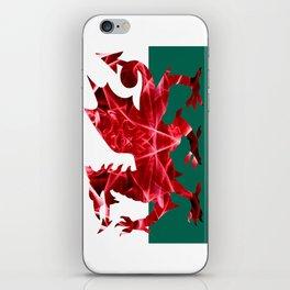 The Welsh Smoke Dragon iPhone Skin