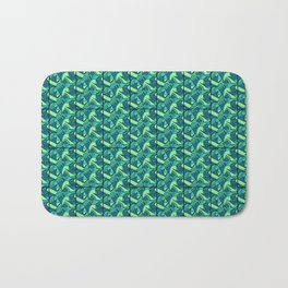 Sea Green Tiles Bath Mat