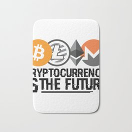 Cryptocurrency Is The Future Quote Bath Mat