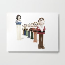 PEZ Collection 1 Metal Print