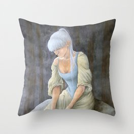Our Time is Running Out Throw Pillow
