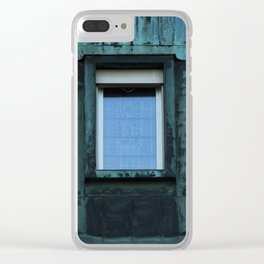 old architectures in Berlin Clear iPhone Case